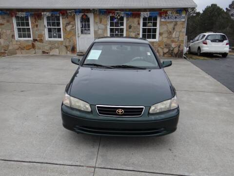 2001 Toyota Camry for sale at Flywheel Auto Sales Inc in Woodstock GA