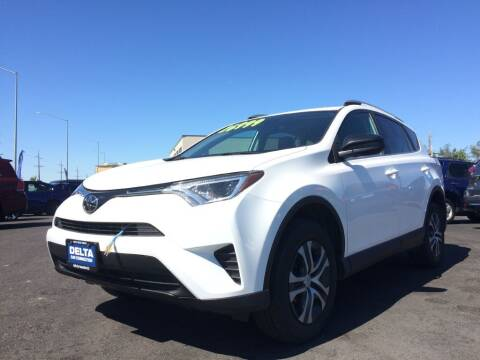 2017 Toyota RAV4 for sale at Delta Car Connection LLC in Anchorage AK