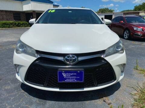 2016 Toyota Camry for sale at Kinston Auto Mart in Kinston NC
