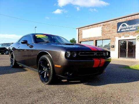 2016 Dodge Challenger for sale at AUTO BARGAIN, INC. #2 in Oklahoma City OK