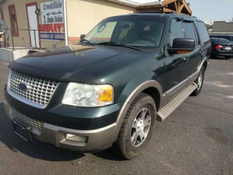 2003 Ford Expedition for sale at Creekside Auto Sales in Pocatello ID