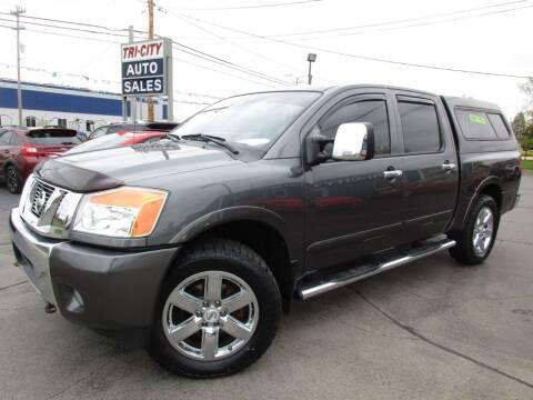 2010 Nissan Titan for sale at TRI CITY AUTO SALES LLC in Menasha WI