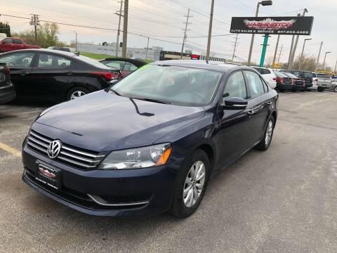 2013 Volkswagen Passat for sale at Washington Auto Group in Waukegan IL