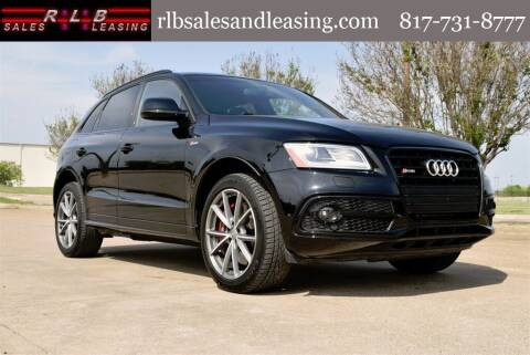 2017 Audi SQ5 for sale at RLB Sales and Leasing in Fort Worth TX