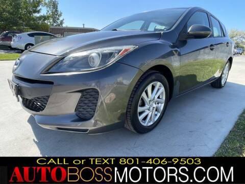 2012 Mazda MAZDA3 for sale at Auto Boss in Woods Cross UT