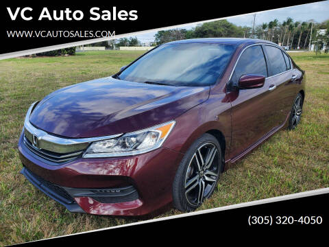 2017 Honda Accord for sale at VC Auto Sales in Miami FL