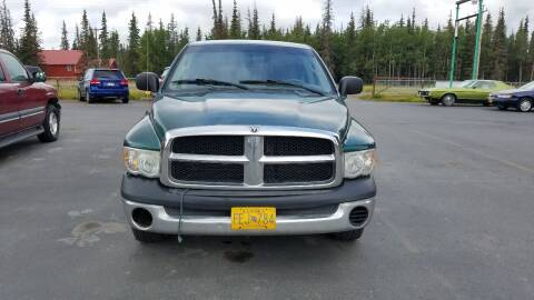 2003 Dodge Ram Pickup 1500 for sale at Great Alaska Car Co. in Soldotna AK