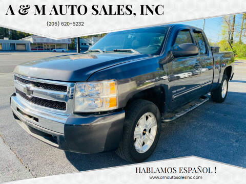 2010 Chevrolet Silverado 1500 for sale at A & M Auto Sales, Inc in Alabaster AL