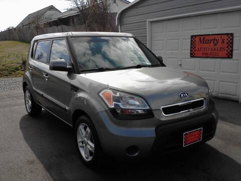 2011 Kia Soul for sale at Marty's Auto Sales in Lenoir City TN