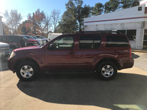 2008 Nissan Pathfinder for sale at Northwood Auto Sales in Northport AL