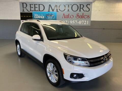 2012 Volkswagen Tiguan for sale at REED MOTORS LLC in Phoenix AZ