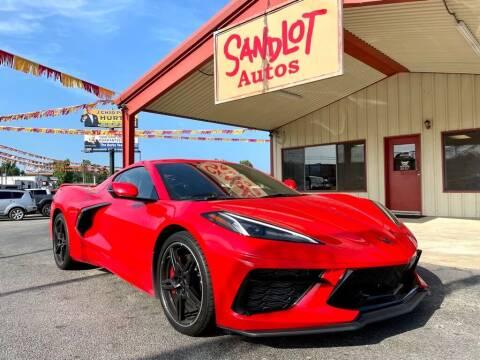 2020 Chevrolet Corvette for sale at Sandlot Autos in Tyler TX