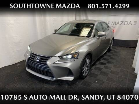 2019 Lexus IS 300 for sale at Southtowne Mazda of Sandy in Sandy UT