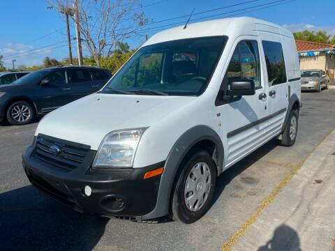 2013 Ford Transit Connect for sale at MIKE AHWAZI in Santa Ana CA