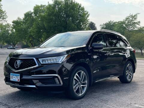2017 Acura MDX for sale at North Imports LLC in Burnsville MN