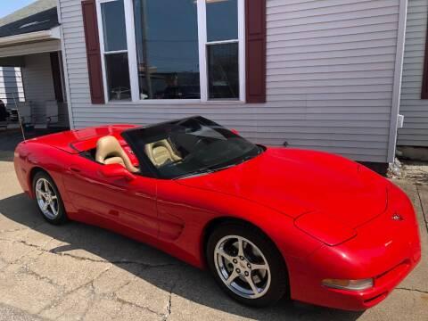 2002 Chevrolet Corvette for sale at Kramer Motor Co INC in Shelbyville IN