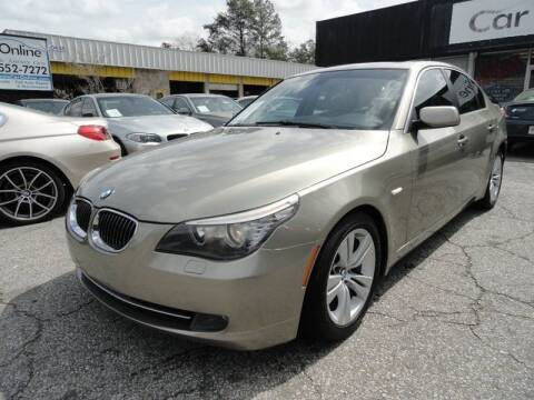 2010 BMW 5 Series for sale at Car Online in Roswell GA