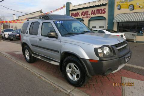 2004 Nissan Xterra for sale at PARK AVENUE AUTOS in Collingswood NJ