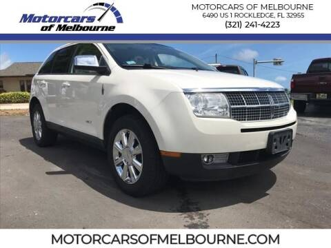 2008 Lincoln MKX for sale at Motorcars of Melbourne in Rockledge FL