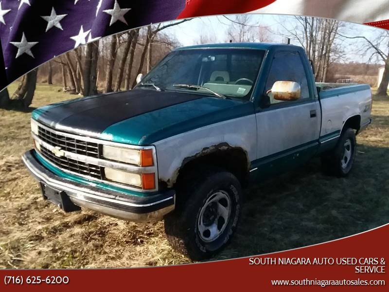 1993 Chevrolet C/K 1500 Series for sale at South Niagara Auto Used Cars & Service in Lockport NY