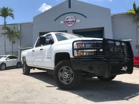 2015 Chevrolet Silverado 2500HD for sale at Ven-Usa Autosales Inc in Miami FL