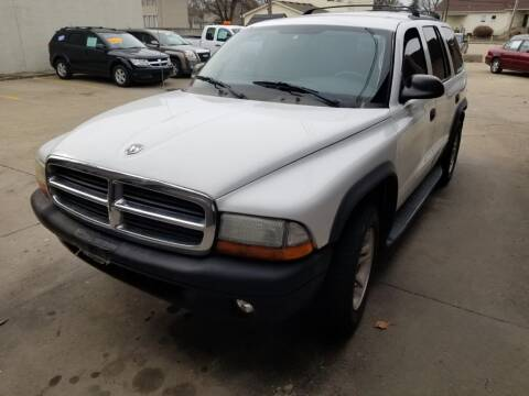 2003 Dodge Durango for sale at Madison Motor Sales in Madison Heights MI