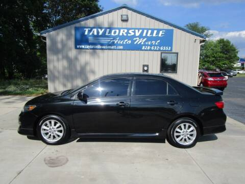2010 Toyota Corolla for sale at Taylorsville Auto Mart in Taylorsville NC