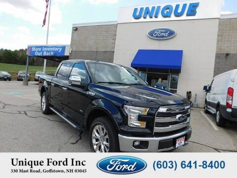2016 Ford F-150 for sale at Unique Motors of Chicopee - Unique Ford in Goffstown NH