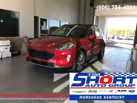 2020 Ford Escape Hybrid for sale at Tim Short Chrysler in Morehead KY