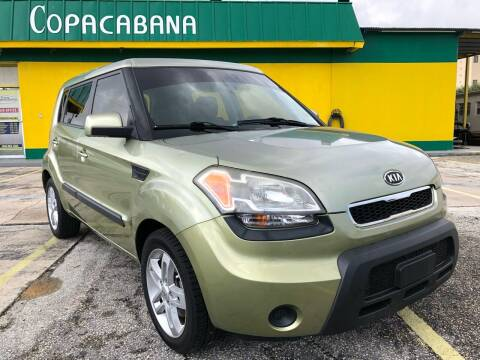 2011 Kia Soul for sale at Trans Copacabana Auto Sales in Hollywood FL