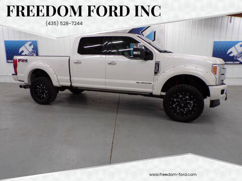 2017 Ford F-350 Super Duty for sale at Freedom Ford Inc in Gunnison UT