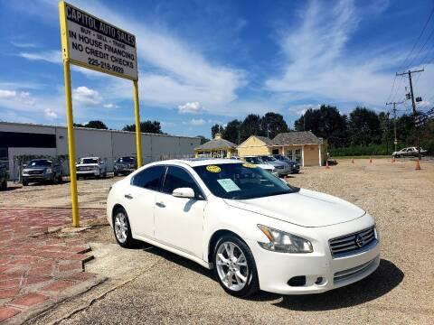 2013 Nissan Maxima for sale at CAPITOL AUTO SALES LLC in Baton Rouge LA