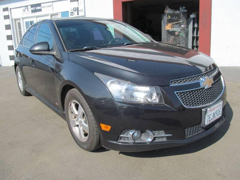 2014 Chevrolet Cruze for sale at Dealer Finance Auto Center LLC in Sacramento CA