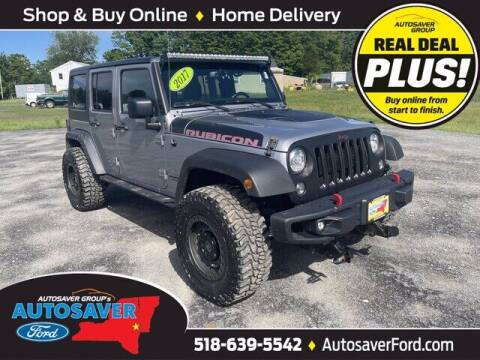 2017 Jeep Wrangler Unlimited for sale at Autosaver Ford in Comstock NY