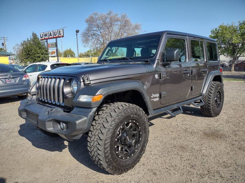 2018 Jeep Wrangler Unlimited for sale at Larry's Auto Sales Inc. in Fresno CA