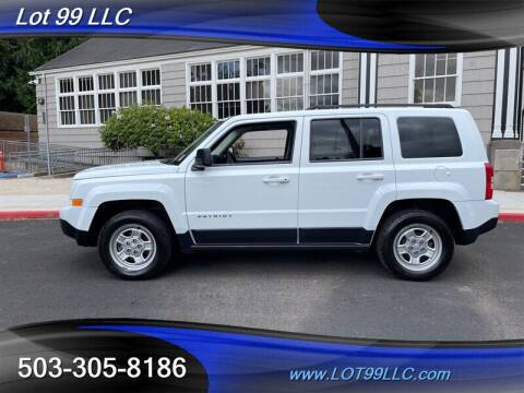 2015 Jeep Patriot for sale at LOT 99 LLC in Milwaukie OR