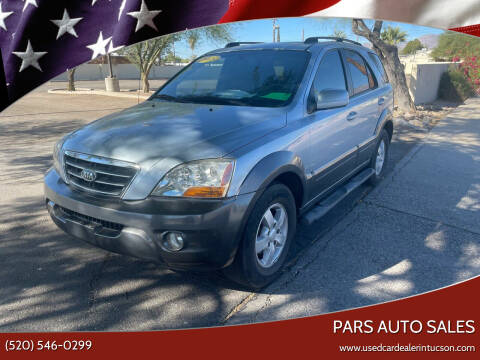 2008 Kia Sorento for sale at PARS AUTO SALES in Tucson AZ