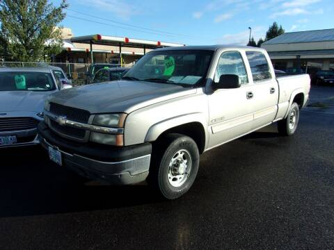 2003 Chevrolet Silverado 1500HD for sale at PJ's Auto Center in Salem OR