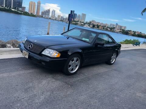 1997 Mercedes-Benz SL-Class for sale at CARSTRADA in Hollywood FL