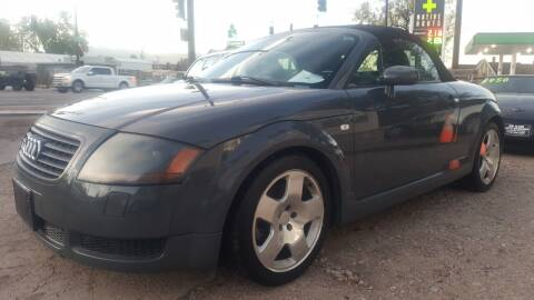 2001 Audi TT for sale at De Kam Auto Brokers in Colorado Springs CO