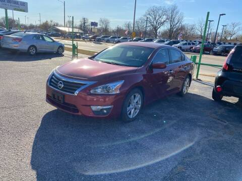 2014 Nissan Altima for sale at Unique Motors in Wichita KS
