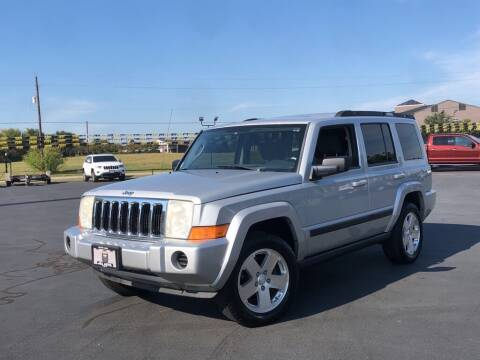 2007 Jeep Commander for sale at J & L AUTO SALES in Tyler TX