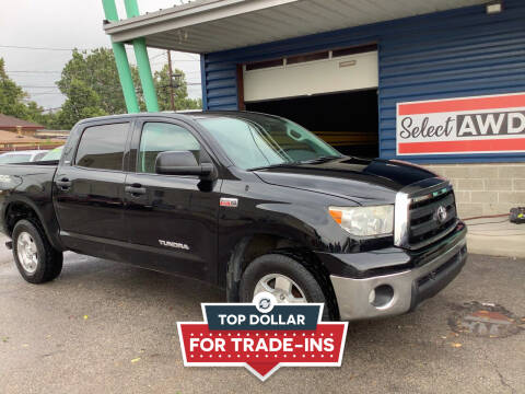 2012 Toyota Tundra for sale at Select AWD in Provo UT