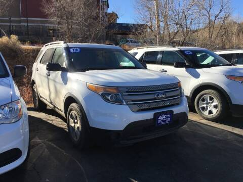 2013 Ford Explorer for sale at 4X4 Auto in Cortez CO