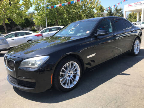 2014 BMW 7 Series for sale at Autos Wholesale in Hayward CA