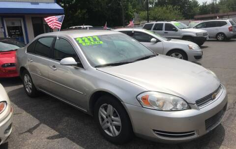 2008 Chevrolet Impala for sale at Klein on Vine in Cincinnati OH