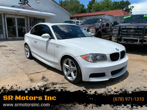 2009 BMW 1 Series for sale at SR Motors Inc in Gainesville GA