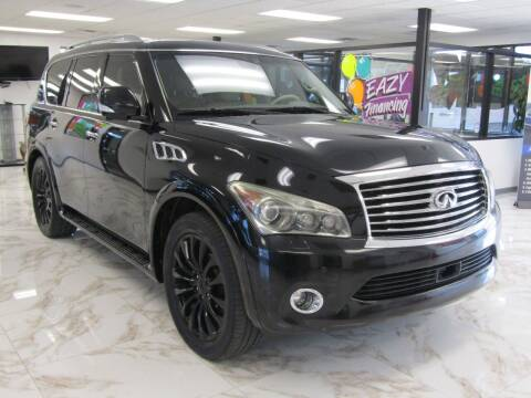 2011 Infiniti QX56 for sale at Dealer One Auto Credit in Oklahoma City OK
