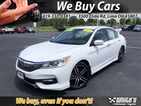 2017 Honda Accord for sale at White's Honda Toyota of Lima in Lima OH