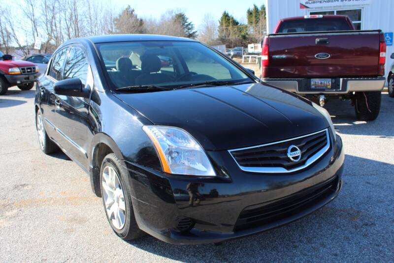 2012 Nissan Sentra for sale at UpCountry Motors in Taylors SC